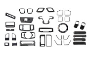 Abs Carbon Fiber Interior Full Accessories Trim Kit 34for Ford F150 2015-2020