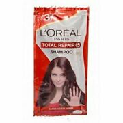 6000 Pouch Of Loreal Paris Total Repair 5 Shampoo Sachet With Free Shipping