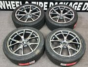 Wheels For Bmw 3-series 5-series Xdrive 18x8 5x120 Offset +35 Staggered Tires