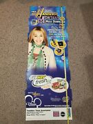 Vintage 2007 Disney Hannah Montana Subway Restaurant Promotional Pieces Awesome