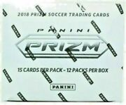 2018 Panini Prizm Fifa World Cup Soccer Factory Sealed Cello Fat Pack Box