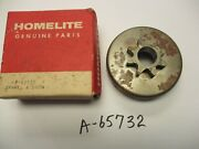 New Homelite Xl-923, 3/8-8 Tooth Spur Sprocket Clutch Drum Part Number A-65732