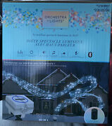 Gemmy Orchestra Of Lights Light Show Box With Outdoor Speaker. Brand New