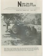 Ford 2n 9n Production Info, Ford All-purpose Industrial Tractor Ferguson-sherman