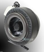 10 Inline 760cfm 110v Duct Fan Vent Exhaust Air Cooled Hydroponic Fan Blower