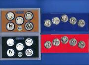 2020 Pdss Bu/uncirculated Clad And Silver Proof Quarter Set- Pd From Mint Sets
