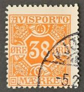 Stamps Denmark 1914 News Paper Stamps Sg N192 P14 X 14andfrac12 Used - 2374