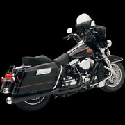 Road Rage 2-into-1 Exhaust Systemsblack Short For 2004-2013 Harley Sportster