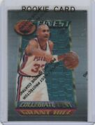 Grant Hill Rookie Card 1994/95 Topps Finest Nba Rc Basketball Detroit Pistons