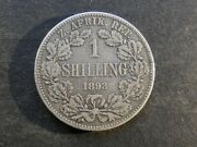 South Africa Shilling 1893.