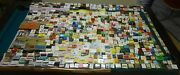 Huge Matchbook And Matchbox Lot 8 Pounds 720 Pieces Multiple Collections In One