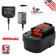 12v 3.6a Battery For Black And Decker Firestorm Hpb12 A1712 Fsb12 A12 Or Charger