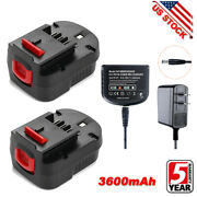 12v Battery Hpb12 3.6ah Ps130 Fsb12 For Black And Decker Power Tool And / Charger