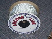 1/2and039and039 Anchor Line 150 Ft Nylon Twisted Premium Boating Boat Thimble Starsyn New
