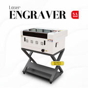 12x16 40w Usb Co2 Laser Engraving Cutting Machine Engraver Cutter With 4 Wheels