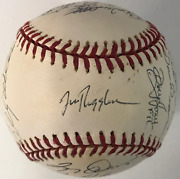 1995 Chicago Cubs Autographed Official Baseball