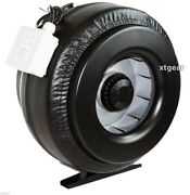 New 8 Inline 720cfm Duct Fan Vent Exhaust Air Cooled Hydroponic Fan Blower