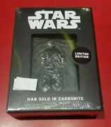 Star Wars - Han Solo In Carbonite Official Ingot - Individually Numbered
