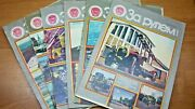 1979-89 Years Of The Ussr Driving Russian Automobile Magazine 90 Pieces