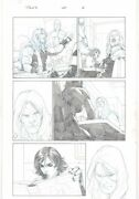 Thor God Of Thunder 20 P.6 - Thor In Diner Drinking Coffee - Art By Esad Ribic