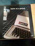 Apple At A Glance Brochure Surviving The Microcomputer Shift, April 14, 1979
