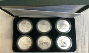 Turkmenistan Set Of 6 Silver Coins Of 1000 Manat Fauna Of The 2006