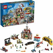 Lego City Main Square 60271 Building Kit Playset 1517 Pieces Jan.12021 New