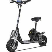 Uberscoot 2x Gas Scooter 50cc Evo Powerboards 11 Tires Suspension 2 Speed Gear