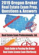 2019 Oregon Real Estate Exam Prep Questions And Answers Study Guide To Passing