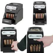 Deluxe Electric Coin Sorter Automatic One Row Wrapper Machine Cash Money Bank