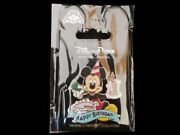 Disney Trading Pin Mickey Mouse Happy Birthday Cake W/ Candle And Party Hat Horn