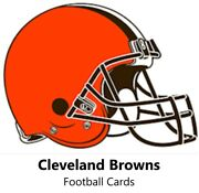 You Pick Your Cards - Cleveland Browns Team - Nfl Football Card Selection
