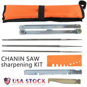 Chainsaw Sharpening File Stihl Filing Kit Chain Sharpen Saw Files Tool Set Guide