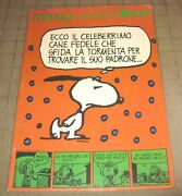 1983 Peanuts Snoopy Charlie Brown Italian Unused Notebook From Italy