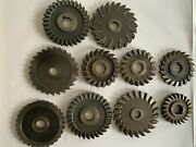 Side Milling Cutters Slitting Saws Bands M.r.andt. Union Twist Standard Tool