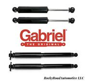 Front And Rear Shocks For Chevrolet S10 Blazer Sonoma Jimmy S15 4x4 4wd Gabriel