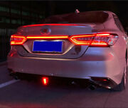 Led Door Trunk Runs Through Taillight Accessories Cover For Toyota Camry 18-2020