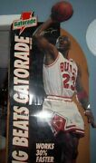 Michael Jordan Store Stand Up Display Gatorade A Prox. 7 Ft Tall 1992