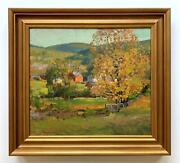 Carlton T Chapman -october In The Highlands 1920s Impressionist Autumn View