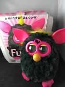 Furby Interactive Electronic Pet - Punky Pink/black Made By Hasbro 2012