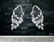 New Large Wings Logo 48x36 Led Flex Wall Signs Color Options And Remote Lf197