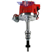Hei Ignition Red Cap Distributor W/65k Coil Fit Sbf Ford Small Block 260 289 302