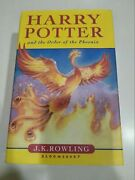 Harry Potter And The Order Of Phoenix Hardcover Uk Rare First Edition Book