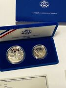 1886-1986 S Us Liberty Silver Proof Coins Half And Dollar