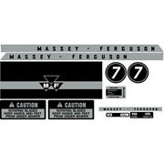 New Mf 7 Massey Ferguson Lawn Tractor Complete Decal Set High Quality Decals 🎯