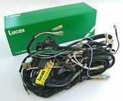 Gen Lucas Main Wiring Harness Loom Triumph T20 Cub Side Points 88sa Switches
