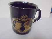 Princess Diana And Charles Marriage, Cup 3.75 Tall 3 Across Top 7-29-1981