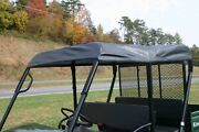 Kawasaki Mule 4010 Trans Roll Cage Soft Top Roof   Custom Made To Order