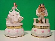Lenox Disney Beast And Belle Treasure Box Beauty And The Beast New In Box With Coa