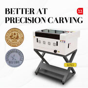 40w Co2 Laser Engraving And Cutting Machine Laserdrw Usb Interface 12''x16''